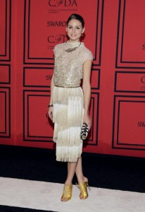 Olivia Palermo at the CFDA's